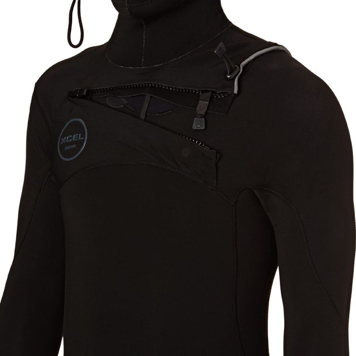 Xcel Comp X 5.5/4.5mm 2018 Chest Zip Hooded Wetsuit