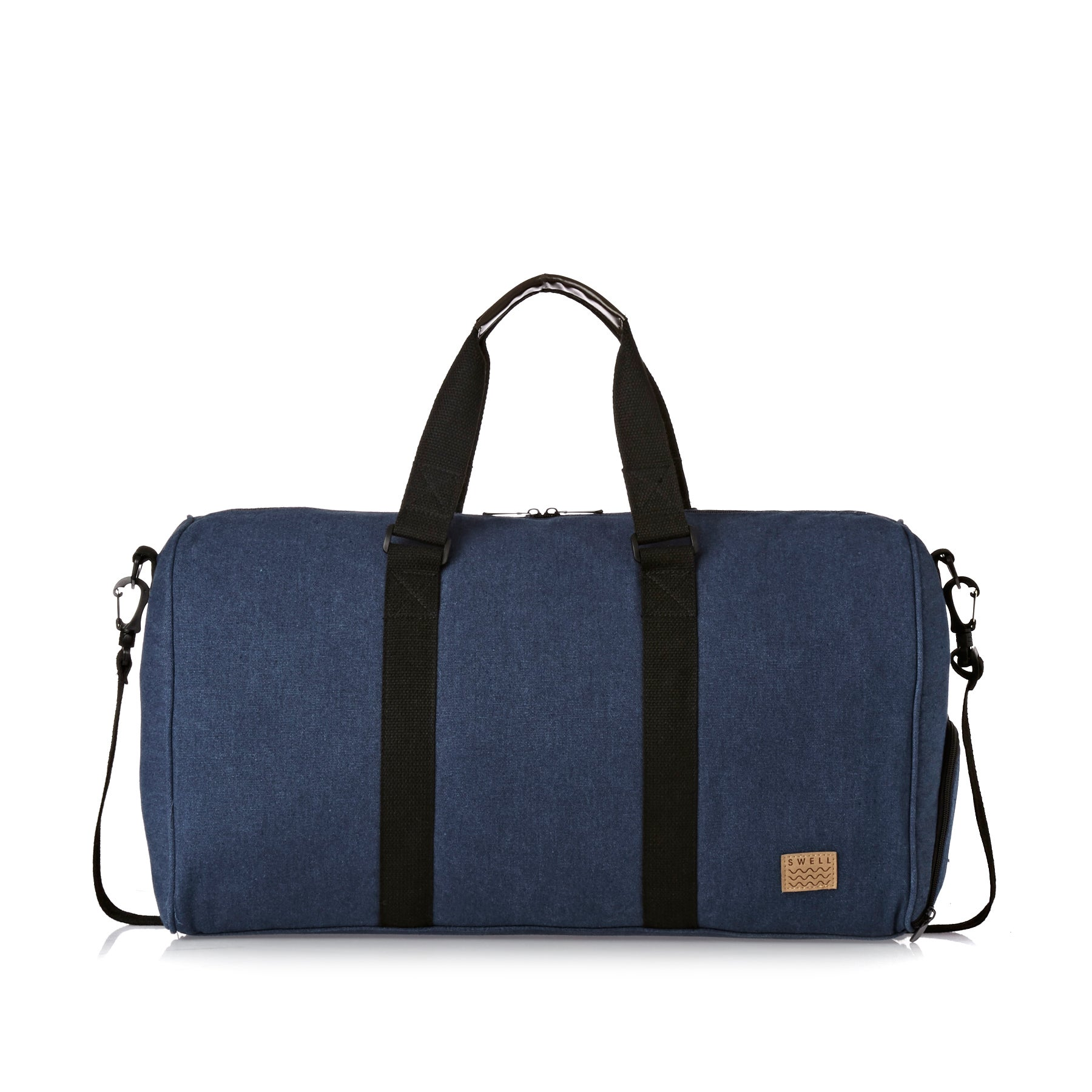 SWELL Washed Holdall Womens Duffle Bag - Navy