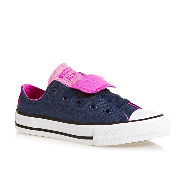 c2238e4114 Converse Chuck Taylor All Star Double Tongue Girls Shoes - Free ...