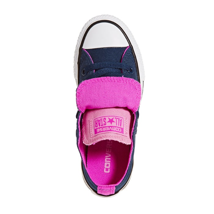 44980b03a5f8 Converse Chuck Taylor All Star Double Tongue Girls Shoes available ...