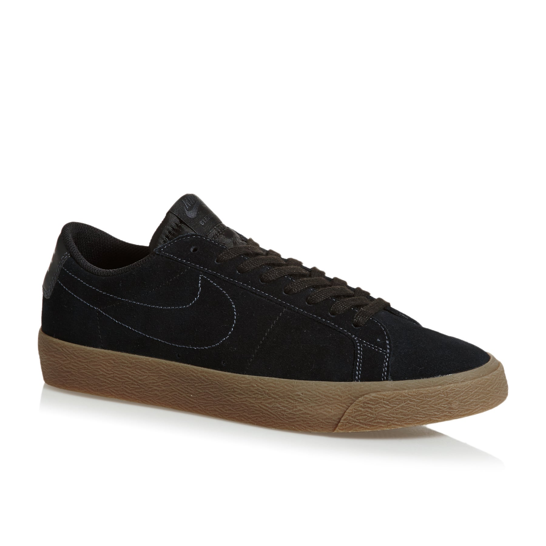 Nike SB Blazer Zoom Low Shoes - Black Black Anthracite