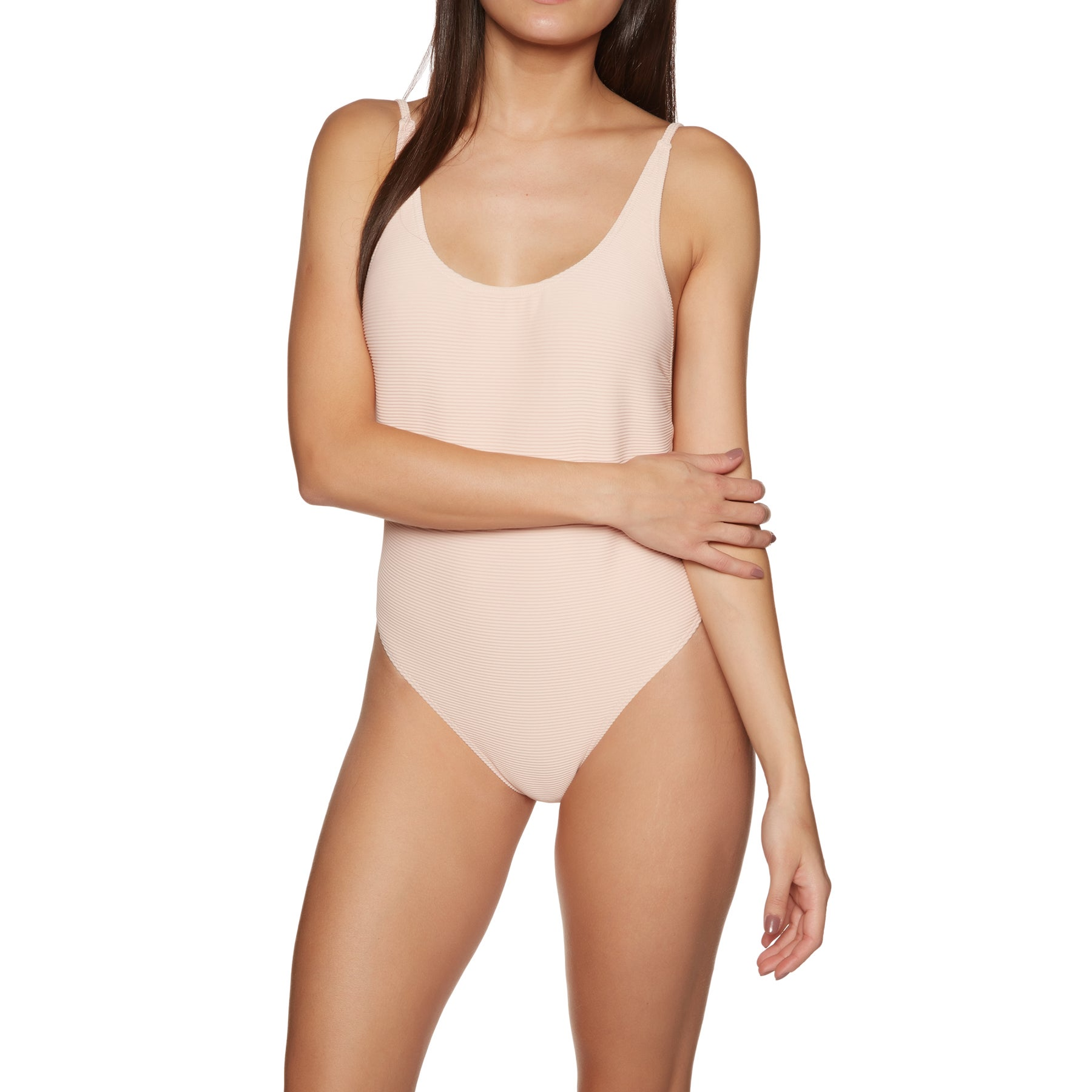 Billabong Tanlines One Piece Womens Swimsuit - Barely Blush