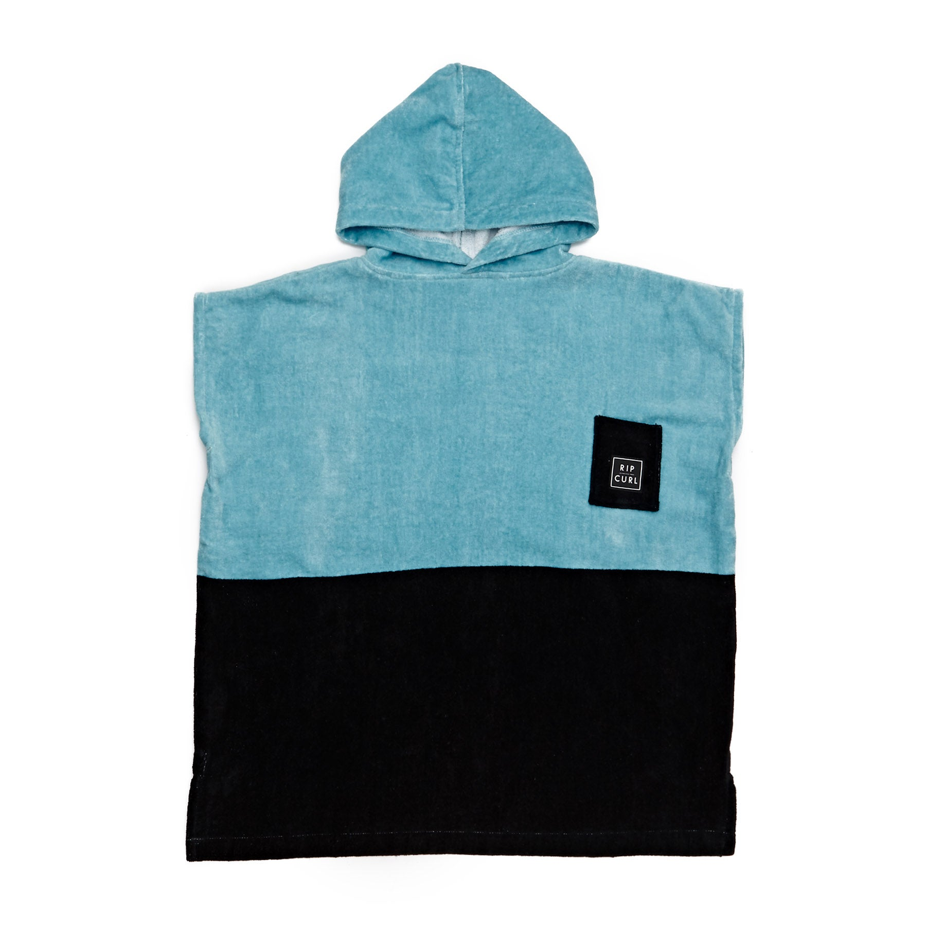 Rip Curl Classic Poncho Groms Changing Robe - Nile Blue