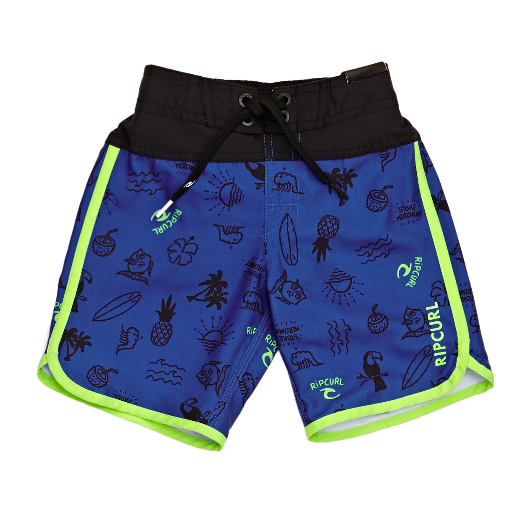 Rip Curl Pacific Rules Boys Boardshorts - Turkish Sea
