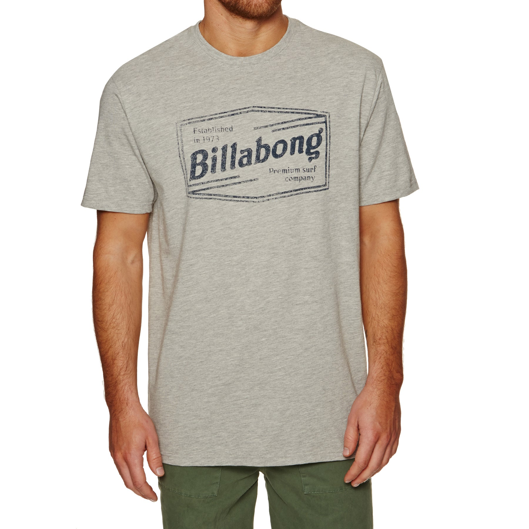 T-Shirt à Manche Courte Billabong Labrea - Grey Heather