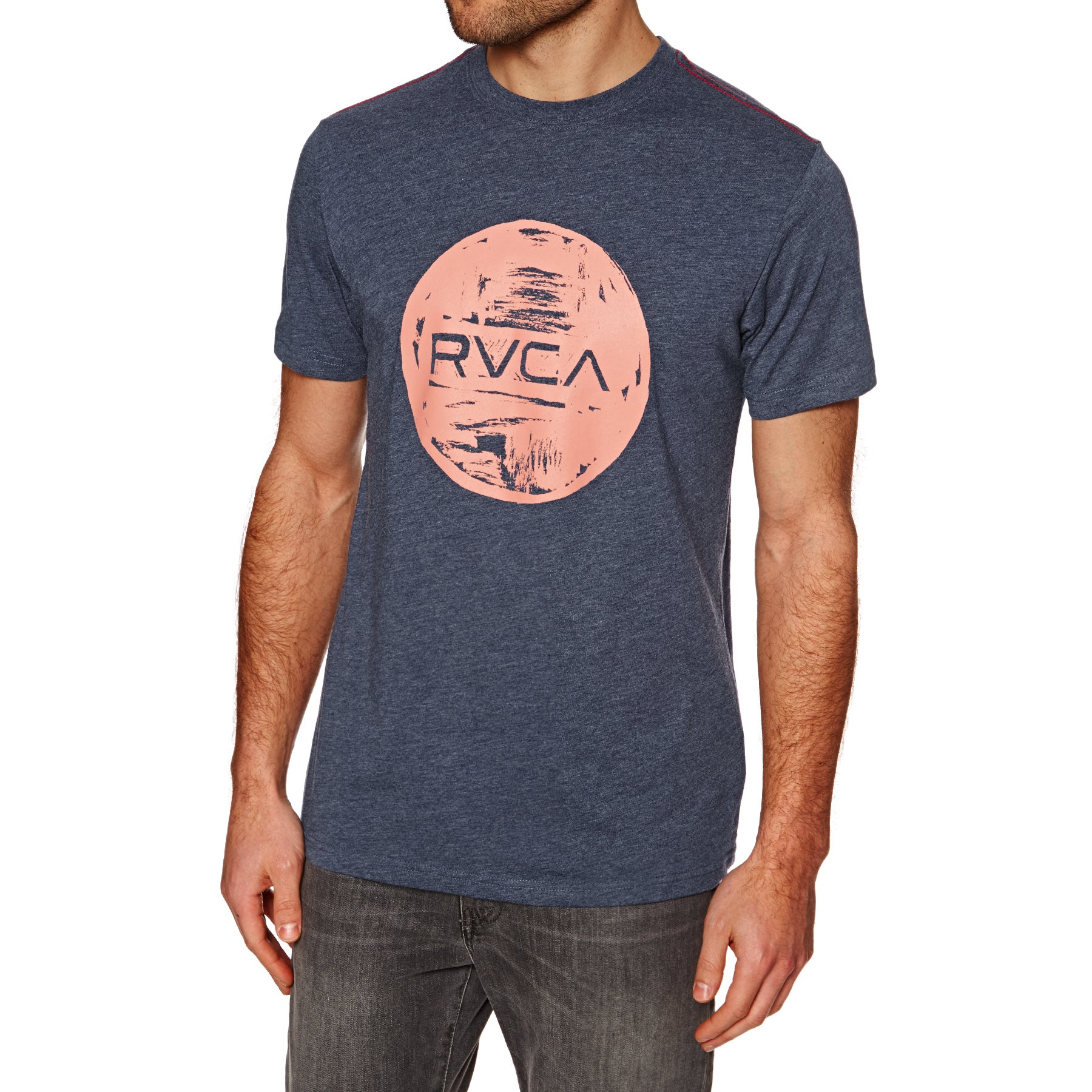 RVCA Motors Kurzarm-T-Shirt - Dark Denim