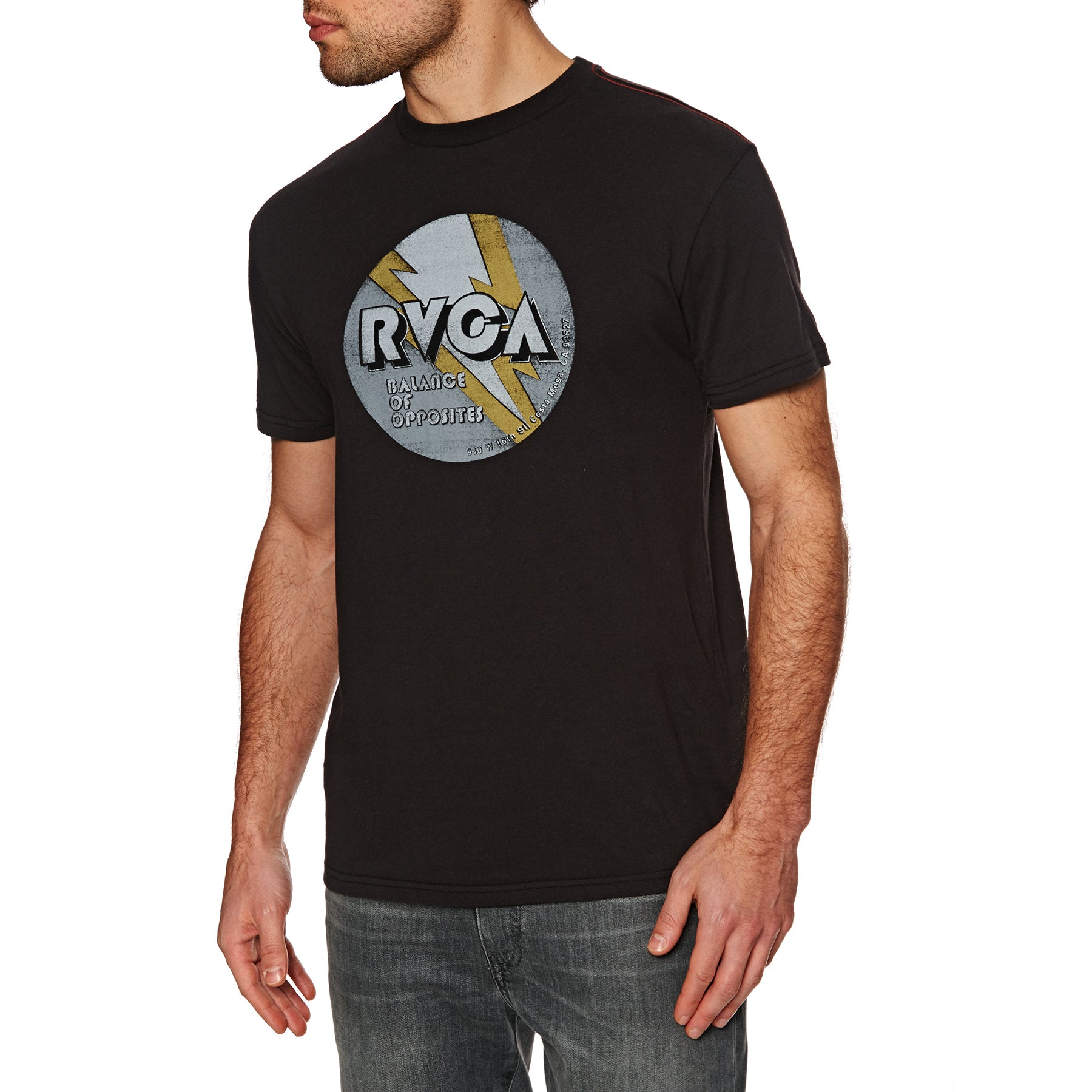 RVCA Volt Kurzarm-T-Shirt - Pirate Black