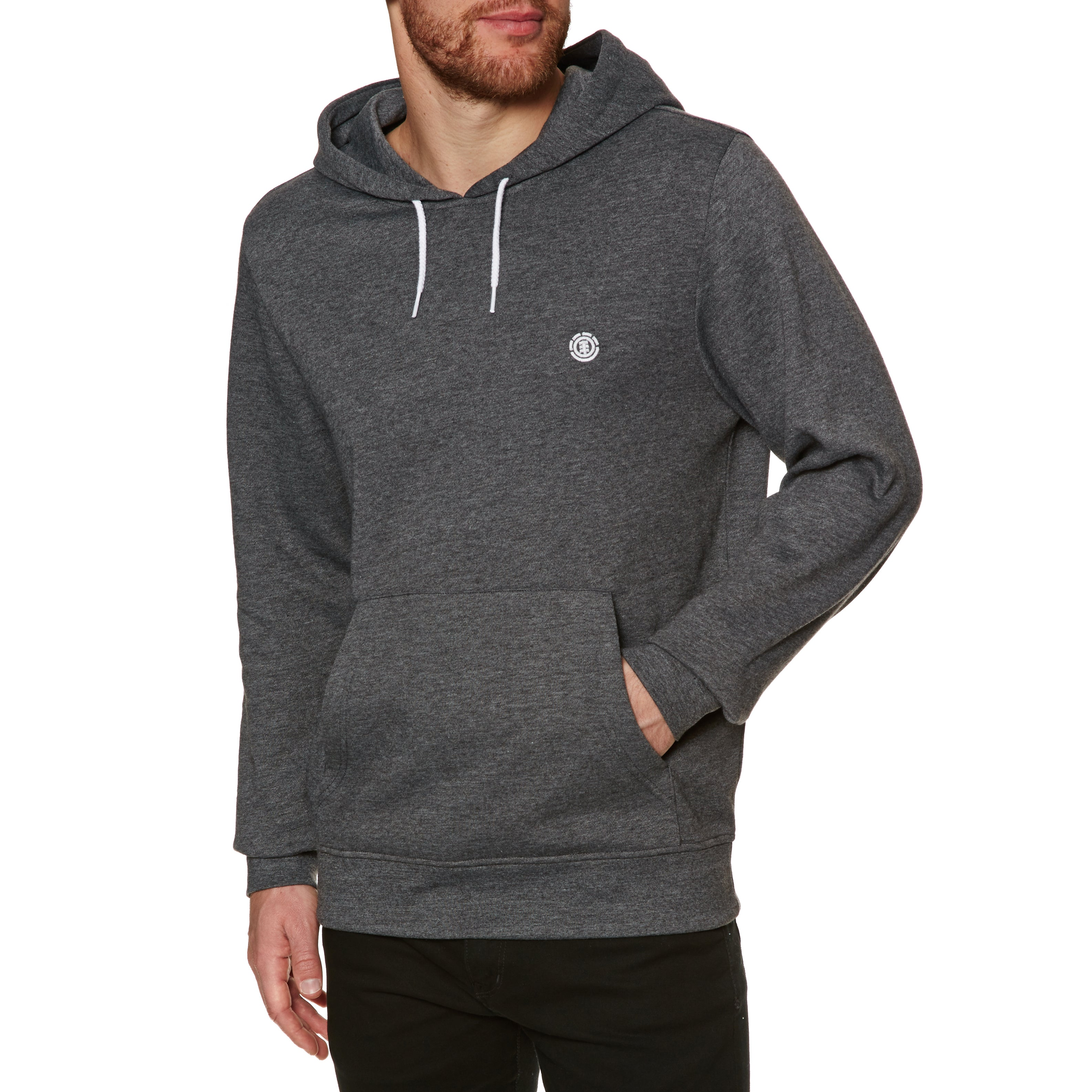 Element Cornell Classic Pullover Hoody - Charcoal Heather