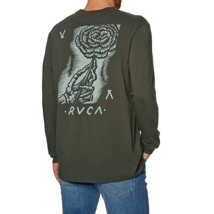 1111eeeff RVCA Womens Day Ls Long Sleeve T-Shirt | Free Delivery Options