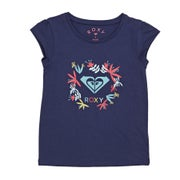 Roxy Moid Flower Logo Girls Short Sleeve T-Shirt