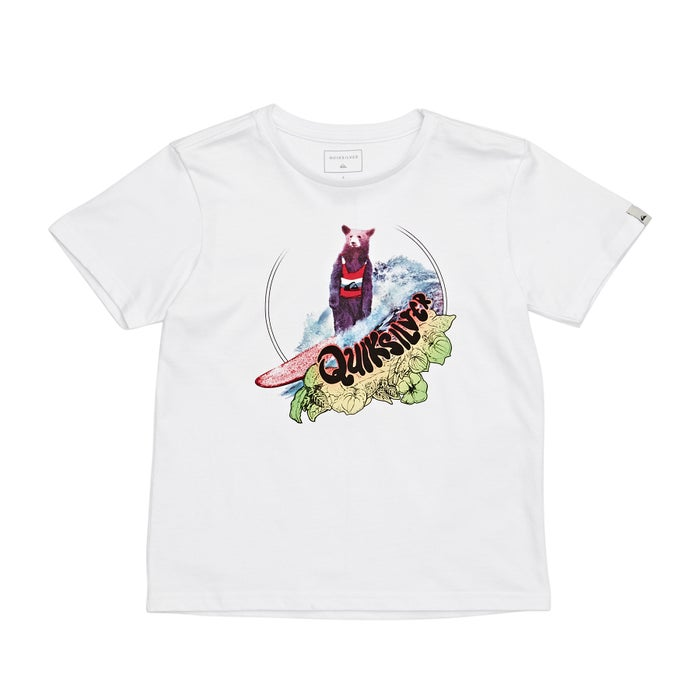 Quiksilver Log Bear Boys Short Sleeve T-Shirt