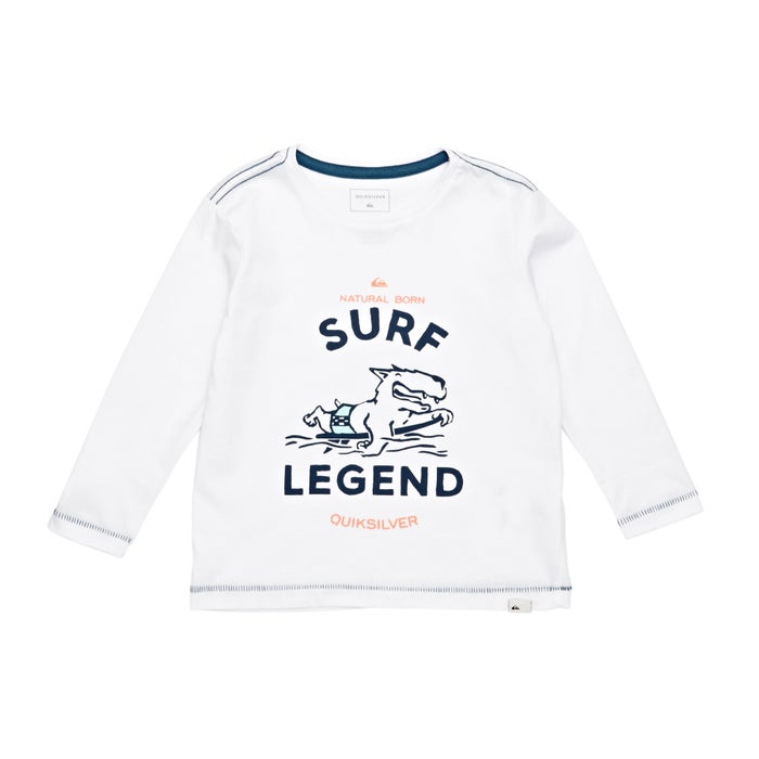 Quiksilver Surf Legend Boys Long Sleeve T-Shirt