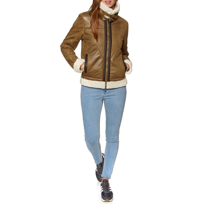 SWELL Crosby Faux Shearling Damen Jacke