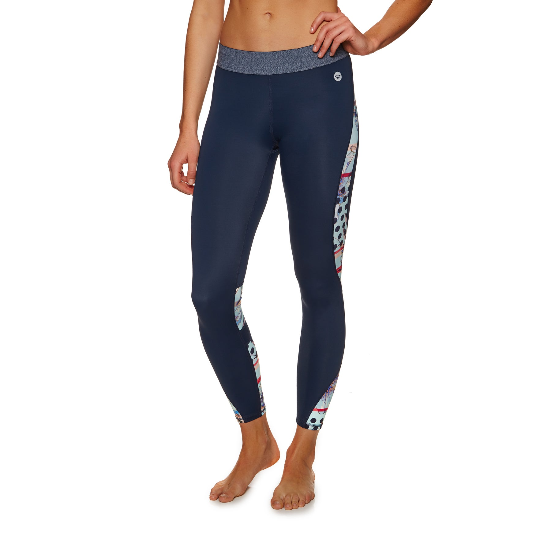 Roxy Drive By The Ocean Womens Leggings - Dress Blues