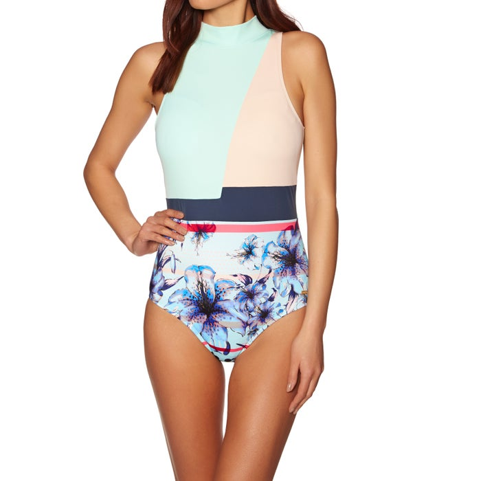 d835bc112d Roxy Pop Surf Fashion Womens Swimsuit available from Surfdome