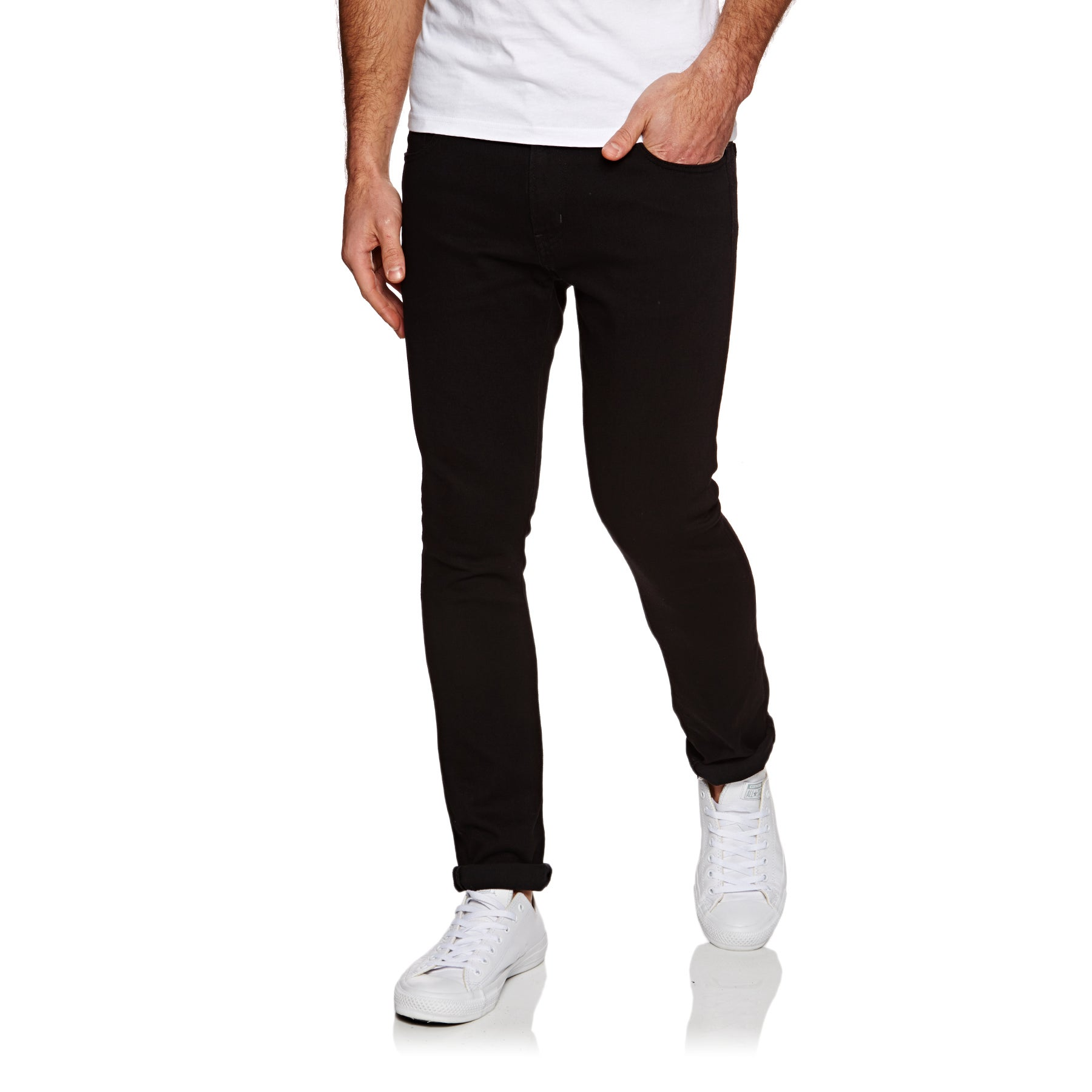 Carhartt Rebel Jeans - Black Rinsed