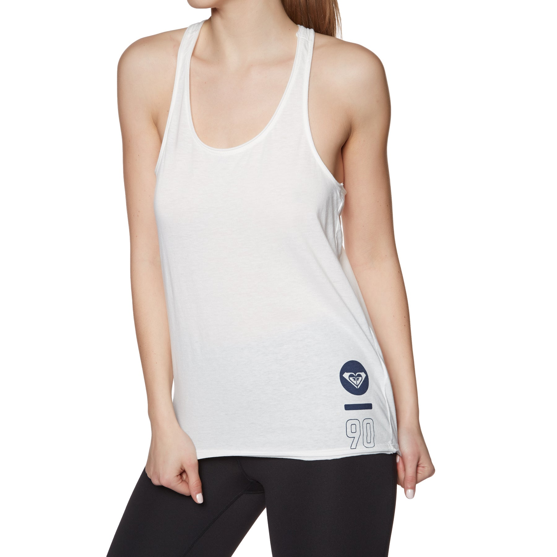 Roxy Play And Win B Womens Tank Vest - Marshmallow