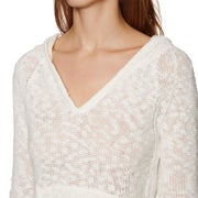 Pullover à Capuche Femme Roxy Slouchy Morning