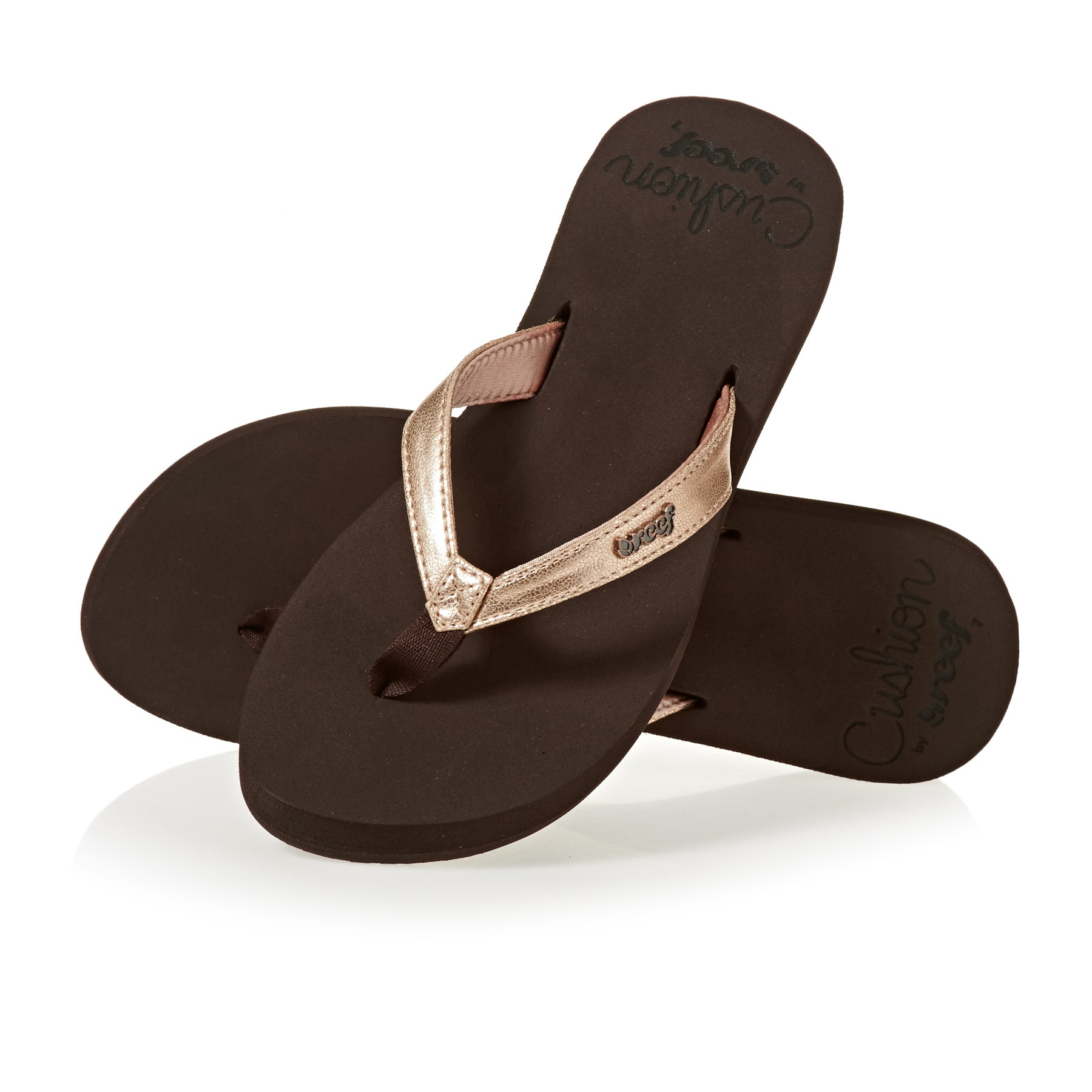 Reef Cushion Luna Dames Sandalen - Rose Gold