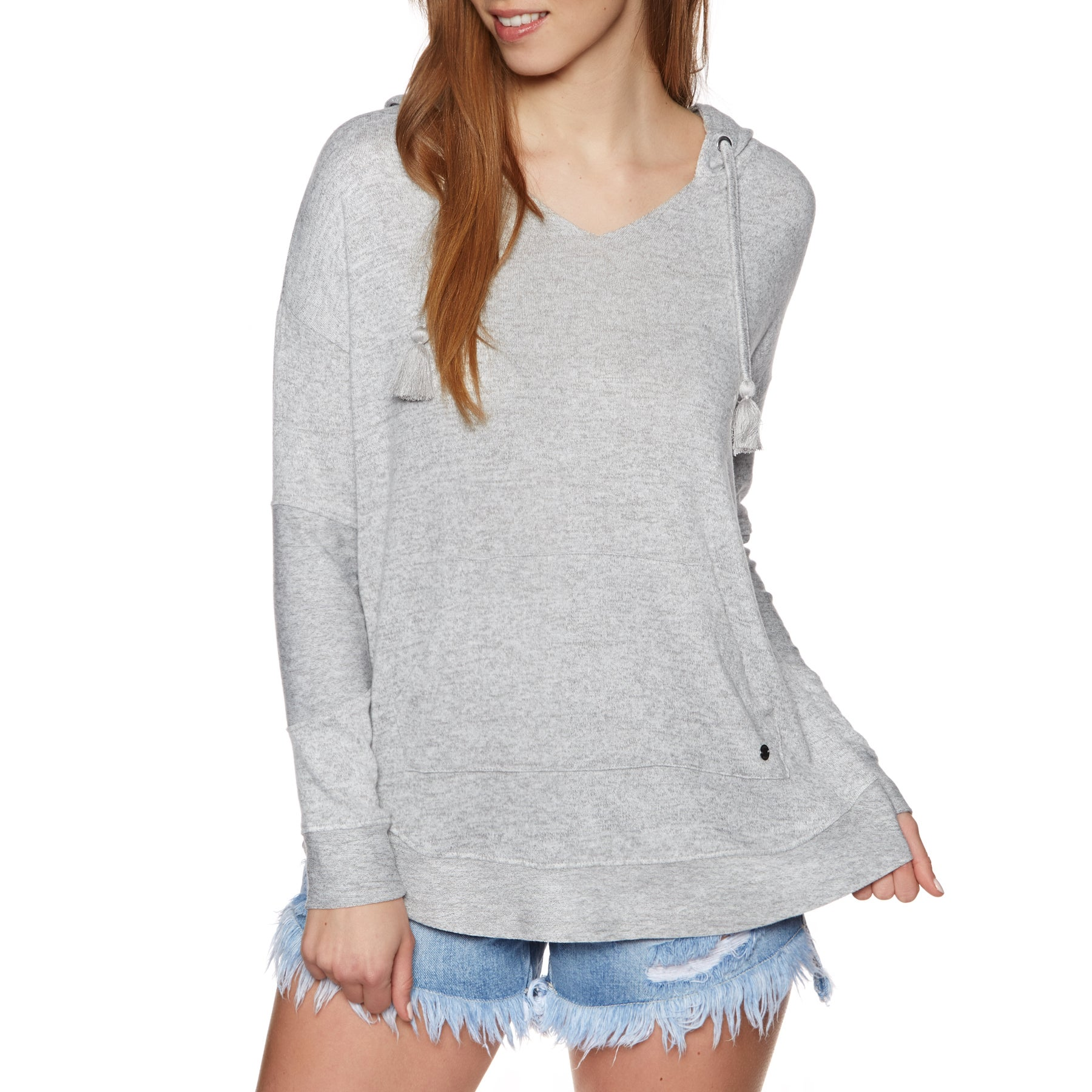 Roxy Cozychill Womens Pullover Hoody - Heritage Heather