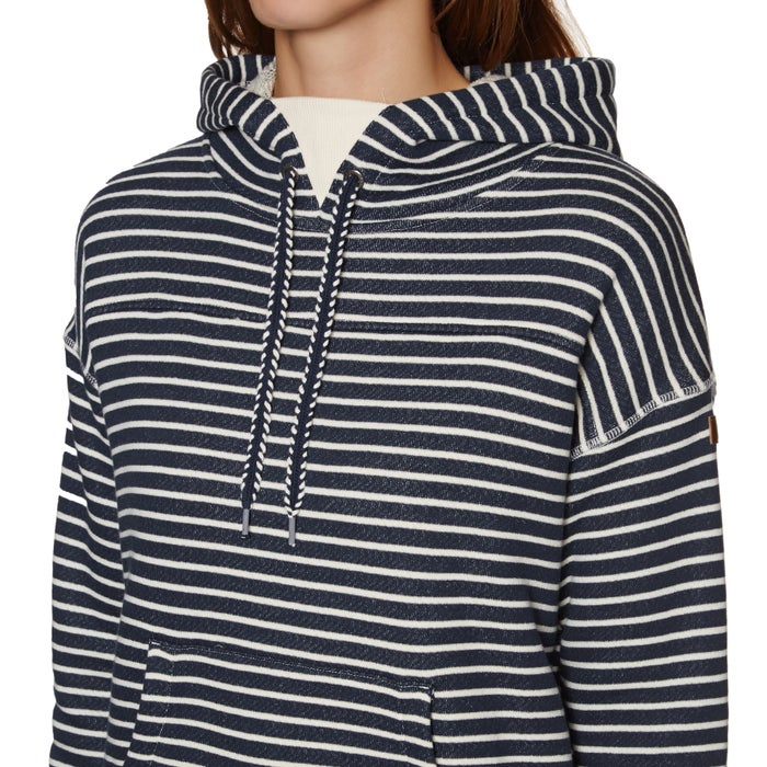 Roxy Greatest Glory Stripe Womens Pullover Hoody