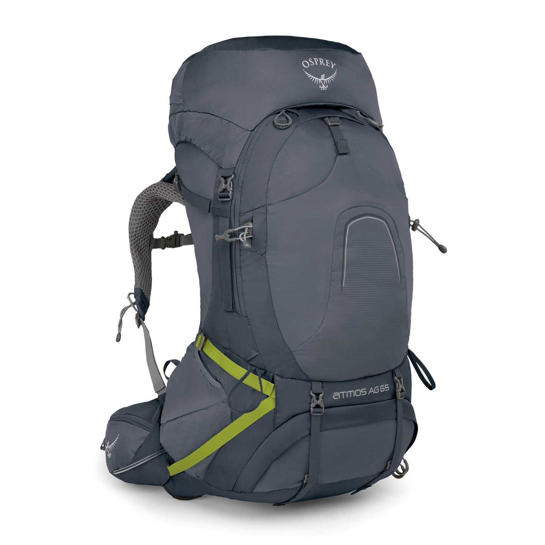 Osprey Atmos Ag 65 Hiking Backpack - Abyss Grey