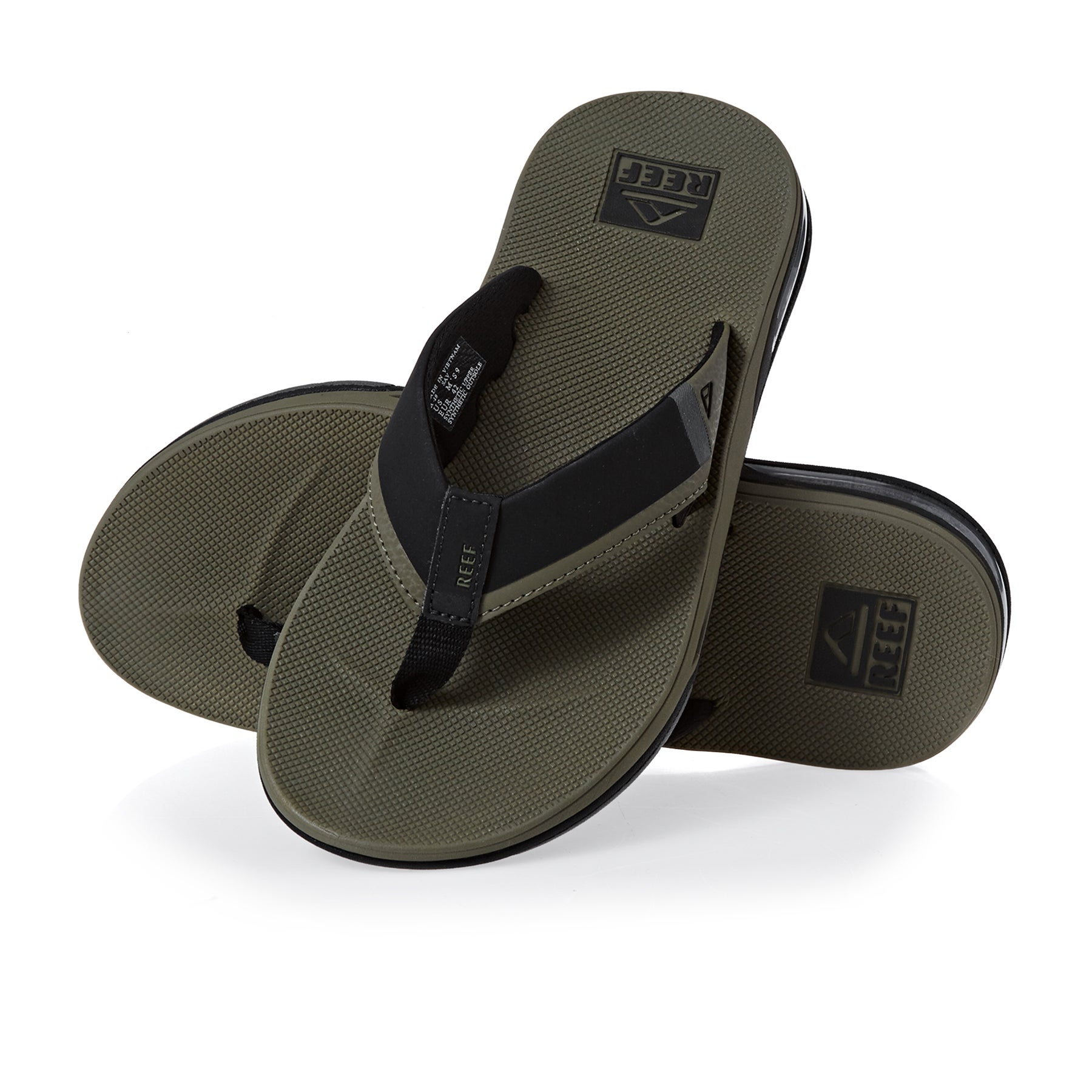 Reef Fanning Low Sandals - Olive