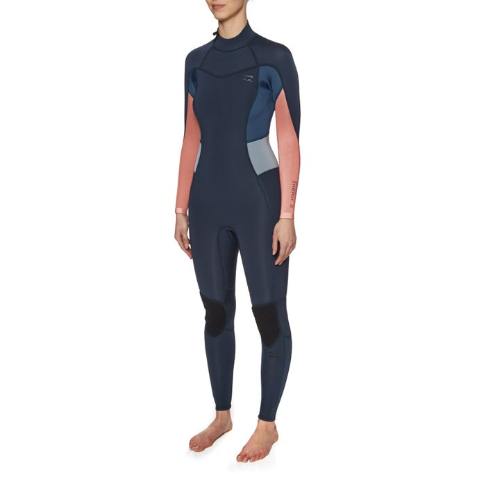 Billabong Synergy 3/2mm 2018 Back Zip Womens Wetsuit