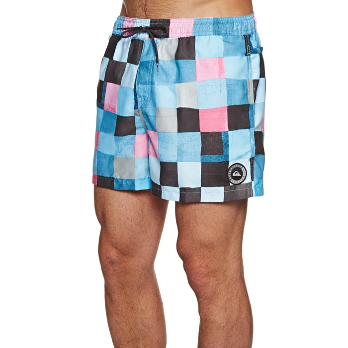 305bd93d1c Quiksilver Resin Check 15 Swim Shorts available from Surfdome
