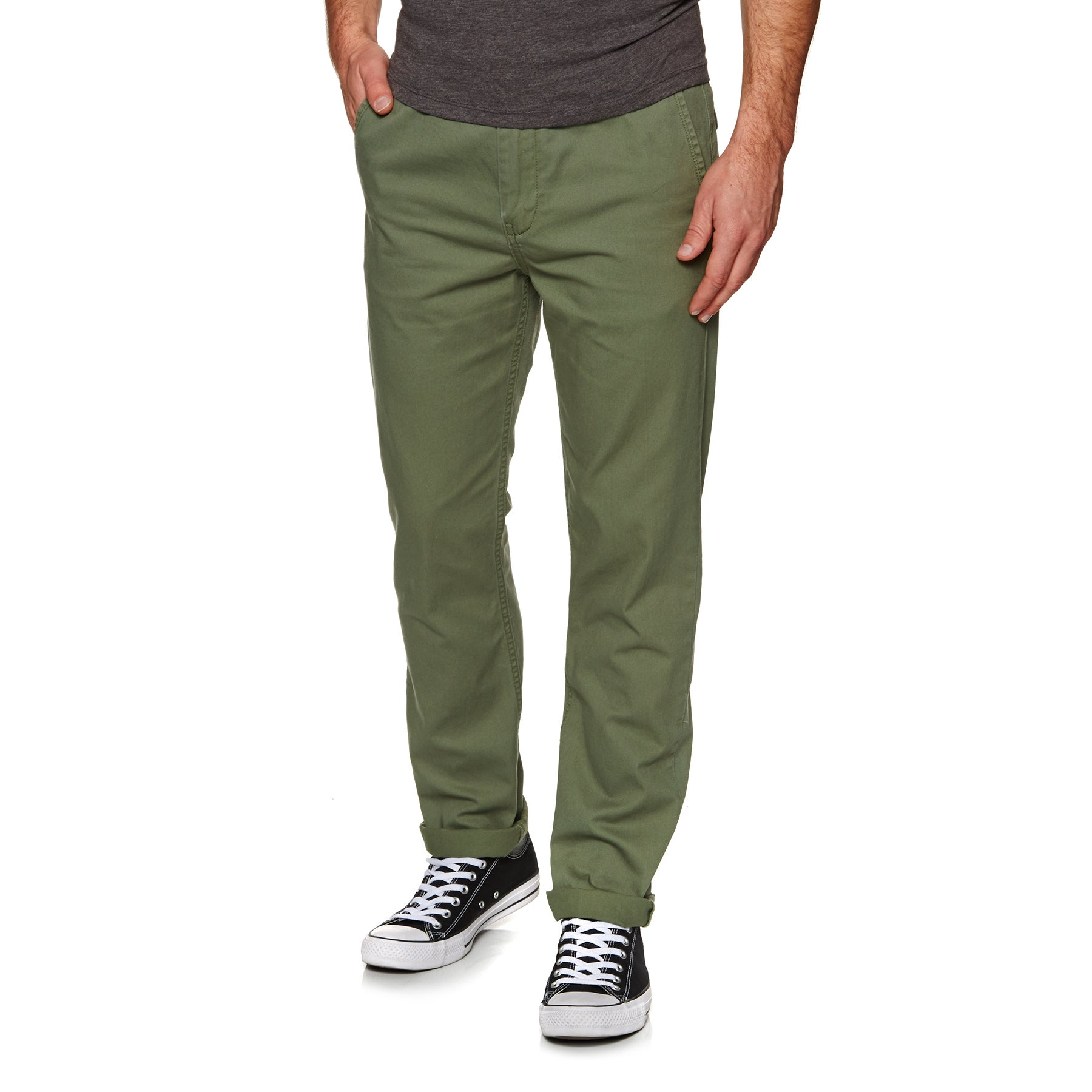 Quiksilver Everyday Light Chino Pant - Four Leaf Clover