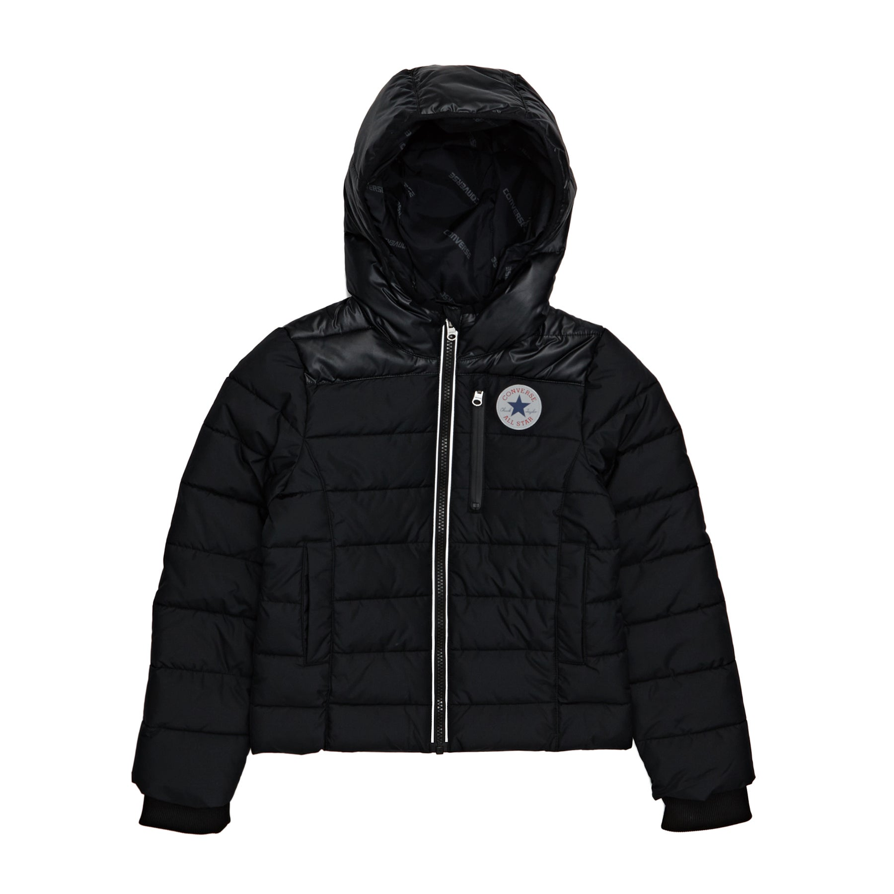Converse Mid Weight Core Girls Jacket - Black