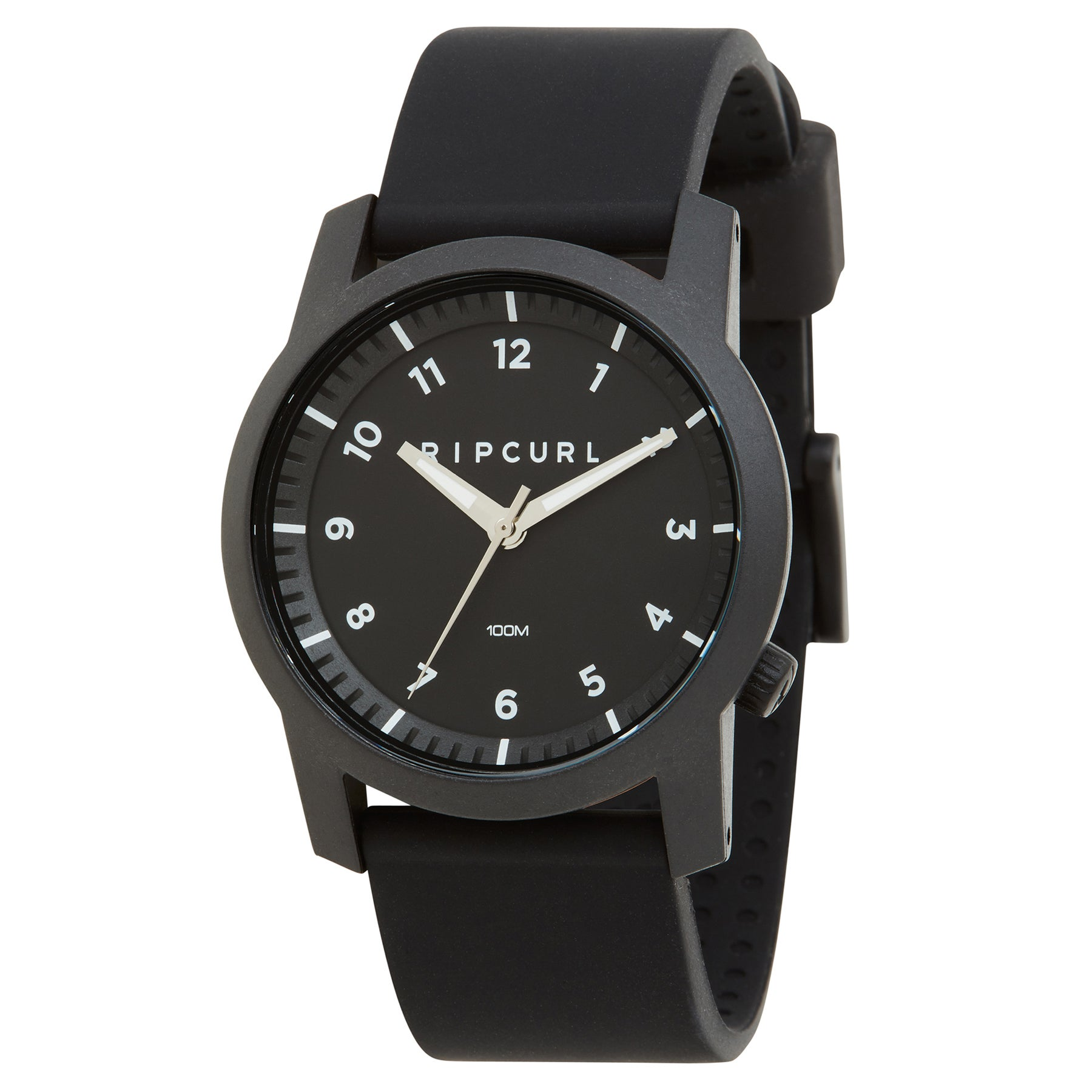 Rip Curl Cambridge Silicone Watch - Black