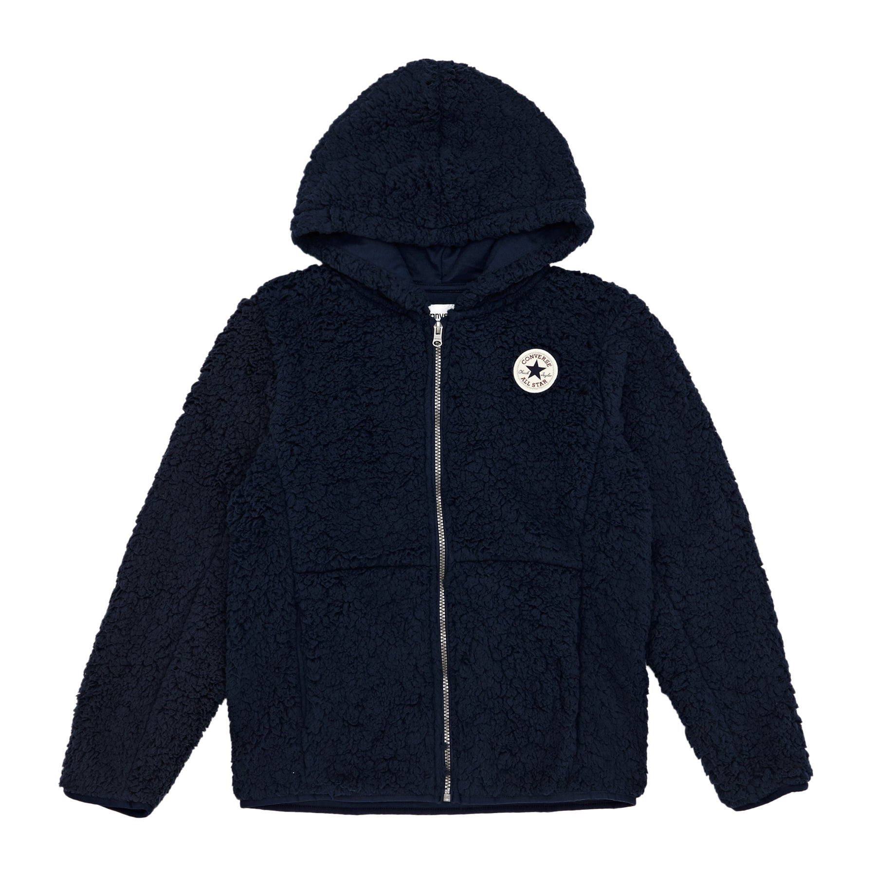 398a58a5a0fe Converse Sherpa Fleece Boys Zip Hoody available from Surfdome