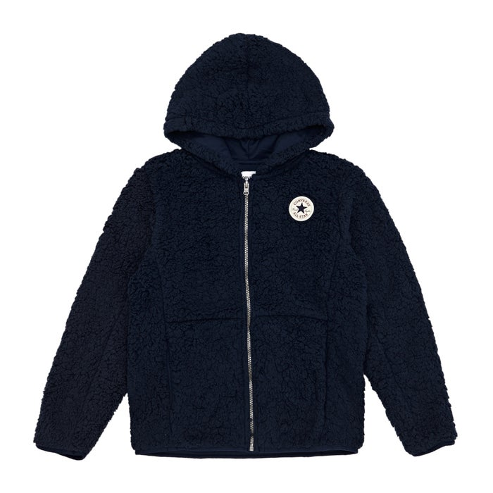 0e9cea40f62126 Converse Sherpa Fleece Boys Zip Hoody available from Surfdome