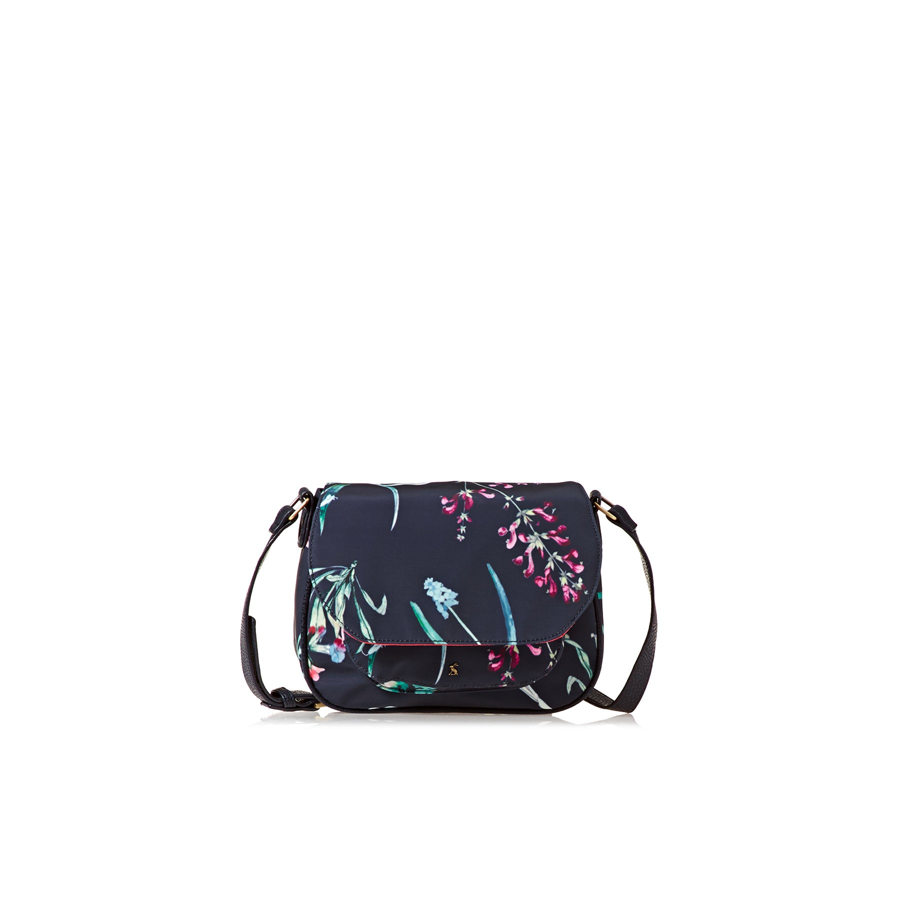 Joules Darby Cross Body Womens Handbag - Navy Botanicals
