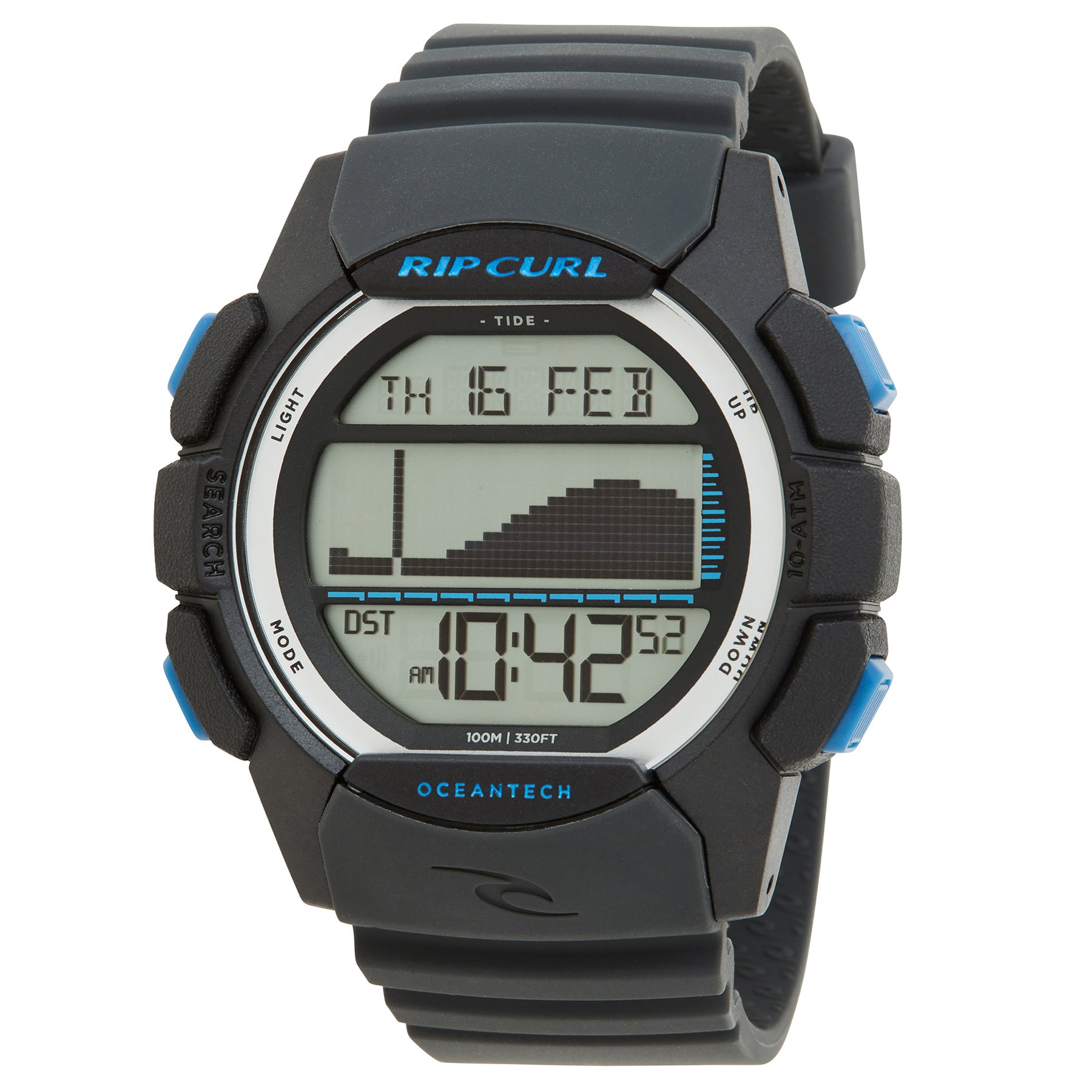 Rip Curl Drifter Tide Watch - Charcoal
