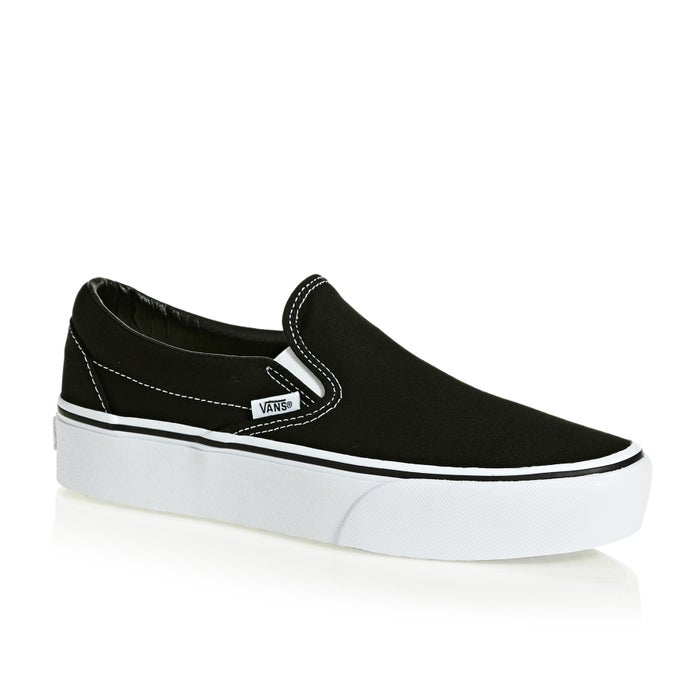 220ace63c5 Vans Classic Platform Womens Slip On Shoes available from Surfdome