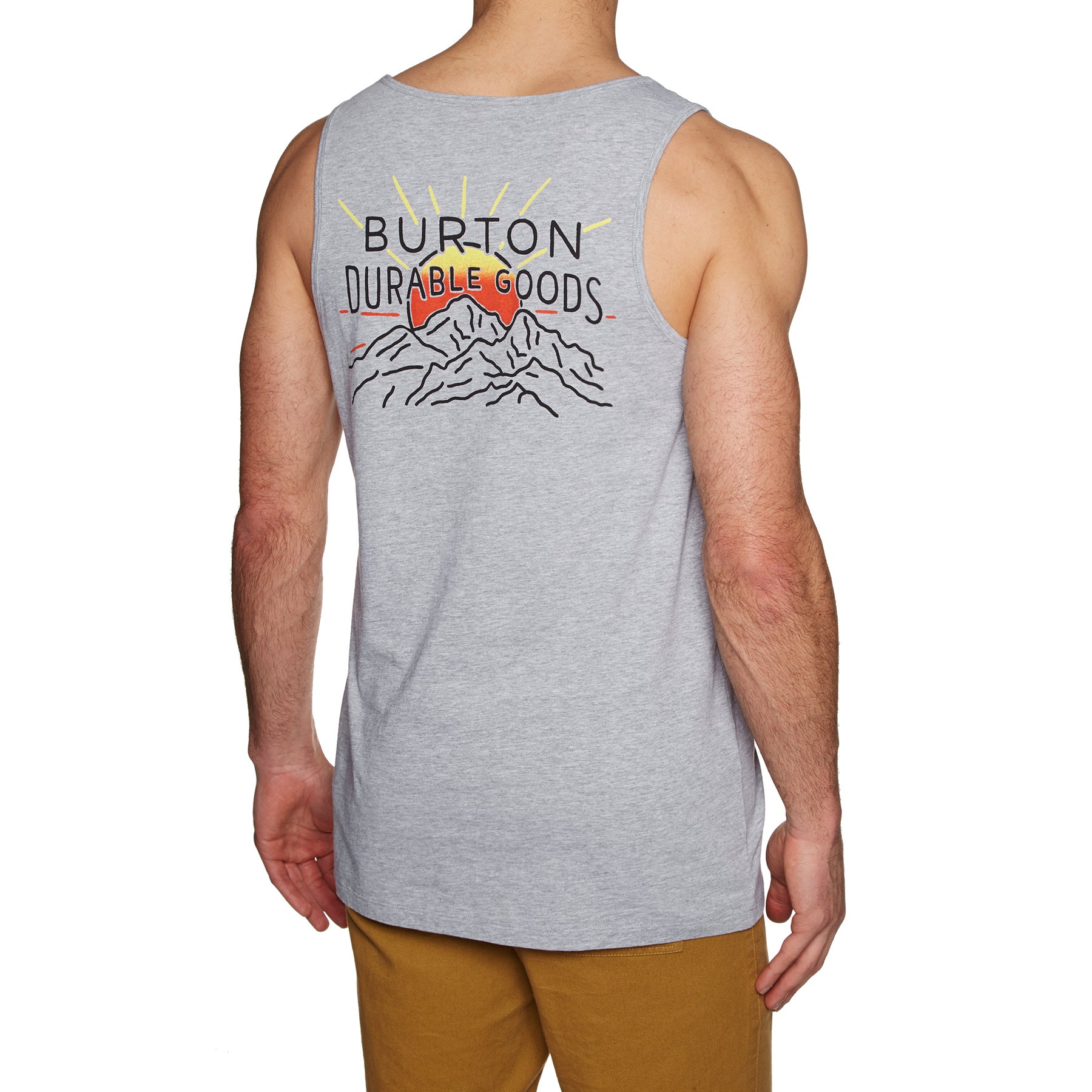 Burton Ridge View Tank Vest - Grey Heather