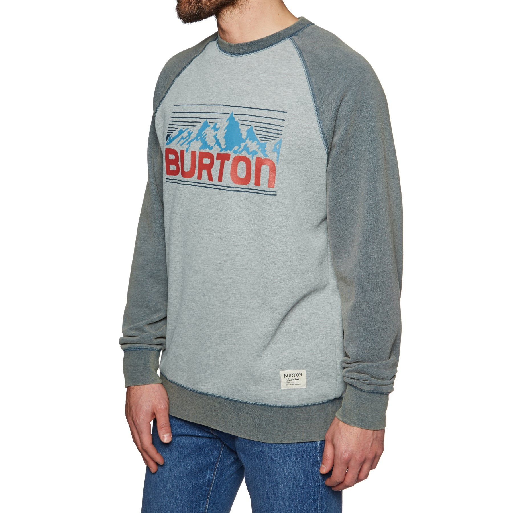 Burton Vista Crew Sweater - Gray Heather