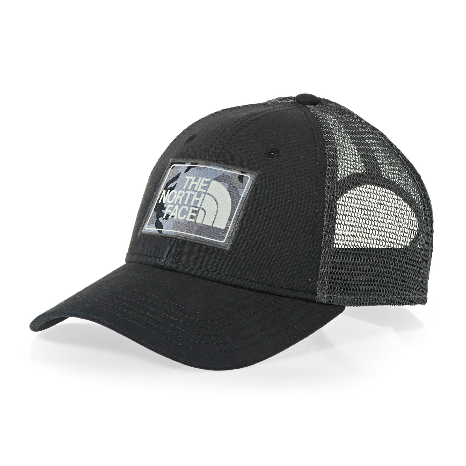 North Face Mudder Trucker Cap - TNF Black Asphalt Grey Camo
