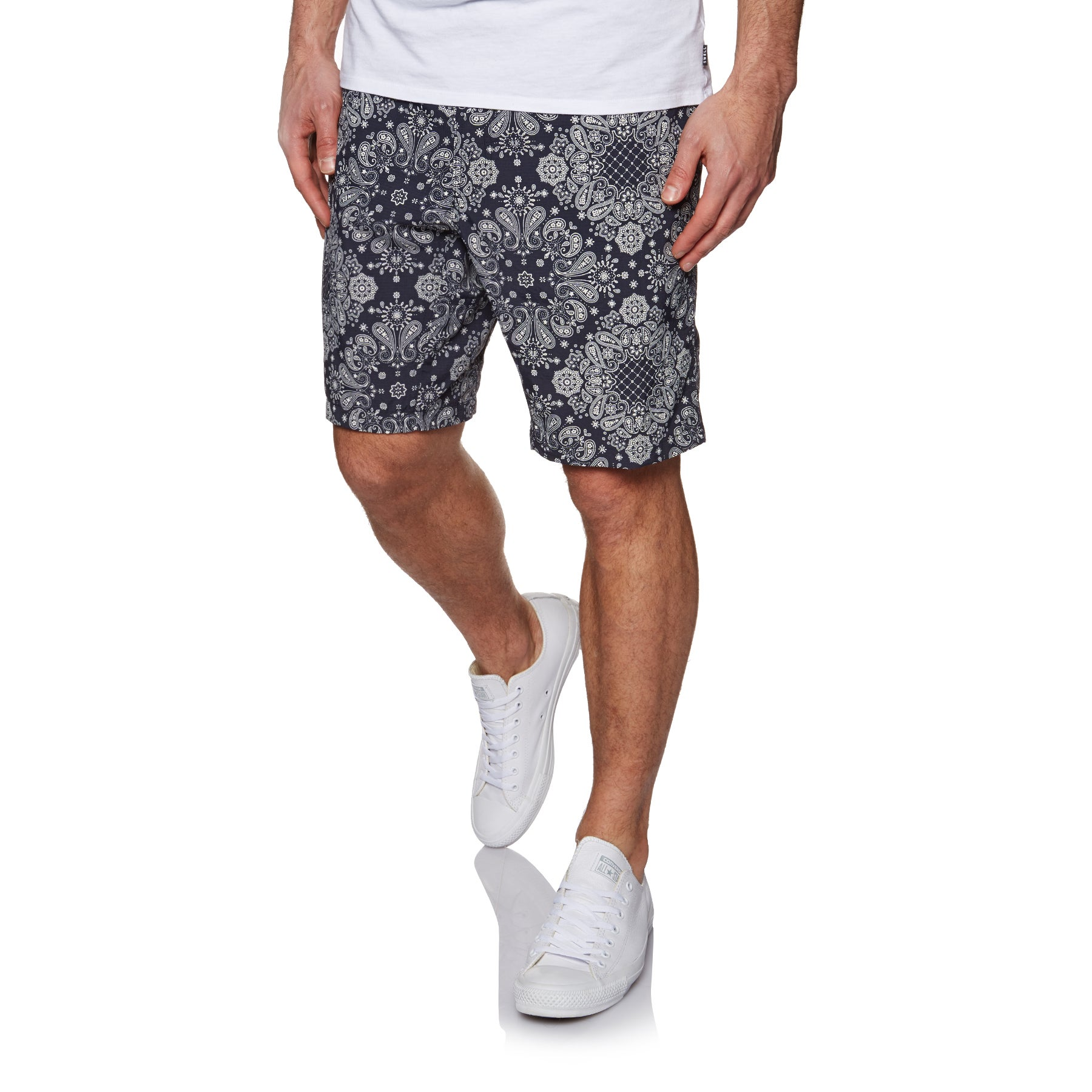Burton Clingman Walk Shorts - Mood Indigo Bandana