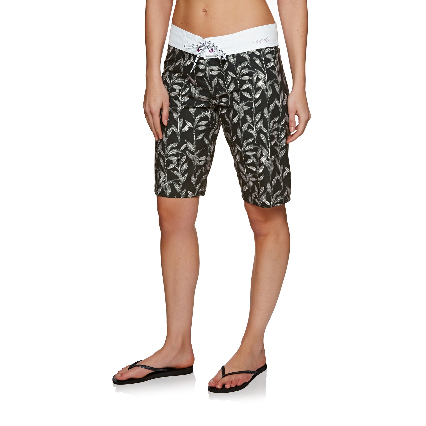 Animal Fian Womens Boardshorts - Filanium Grey