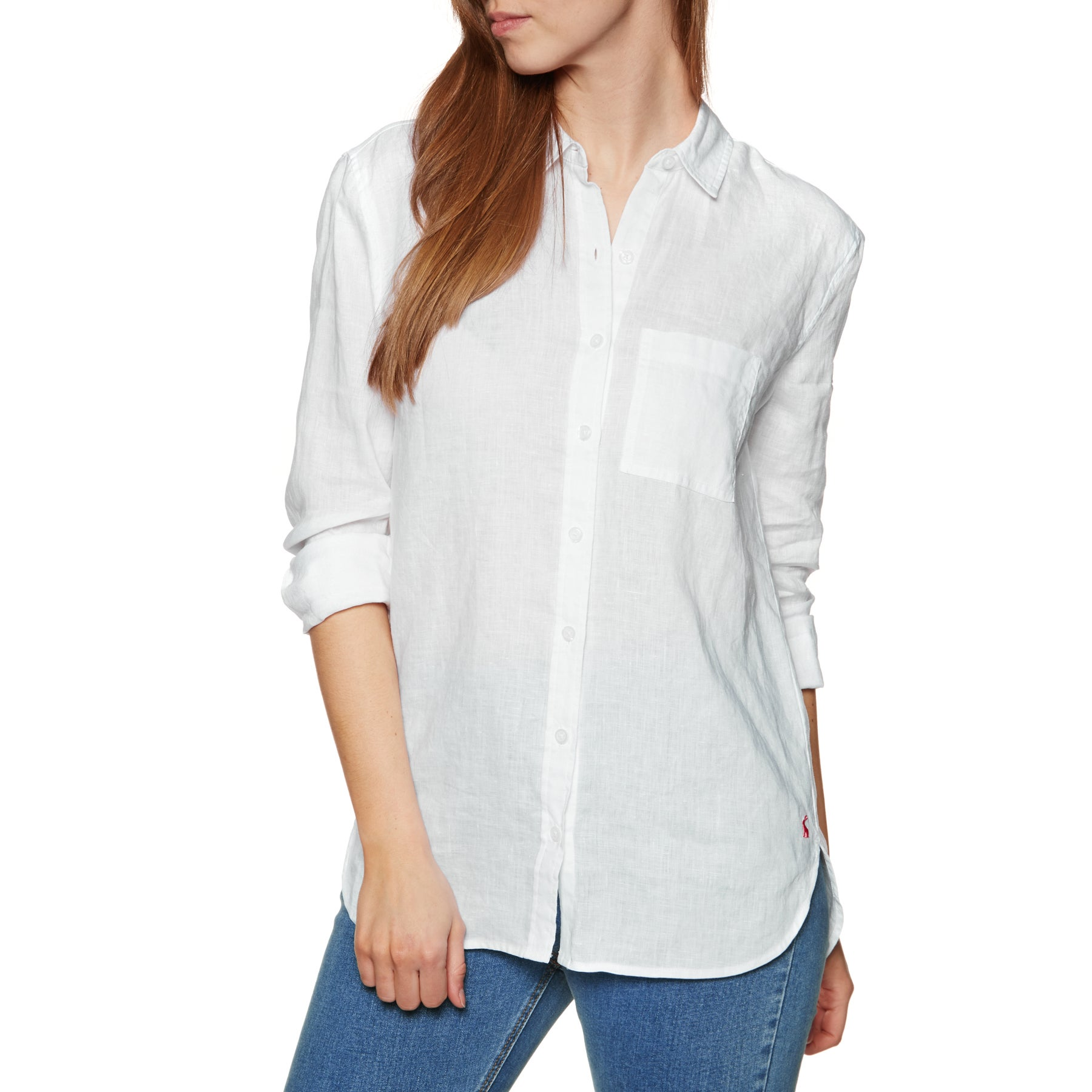 Joules Jeanne Womens Shirt - Bright White
