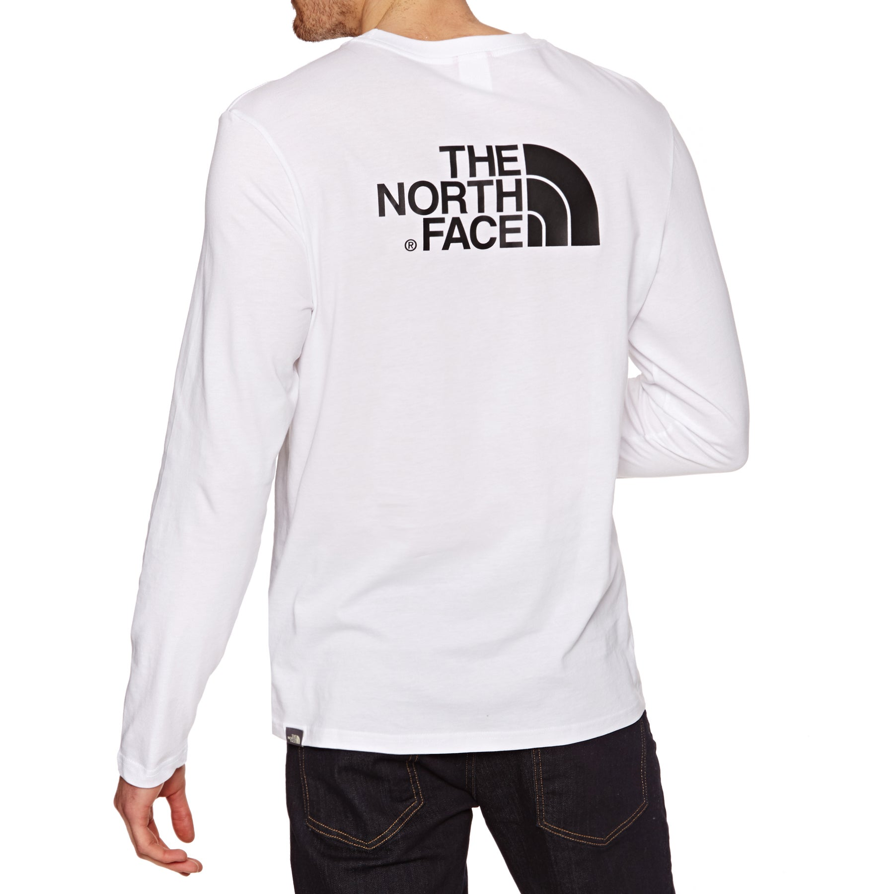 North Face Easy Long Sleeve T-Shirt - TNF White