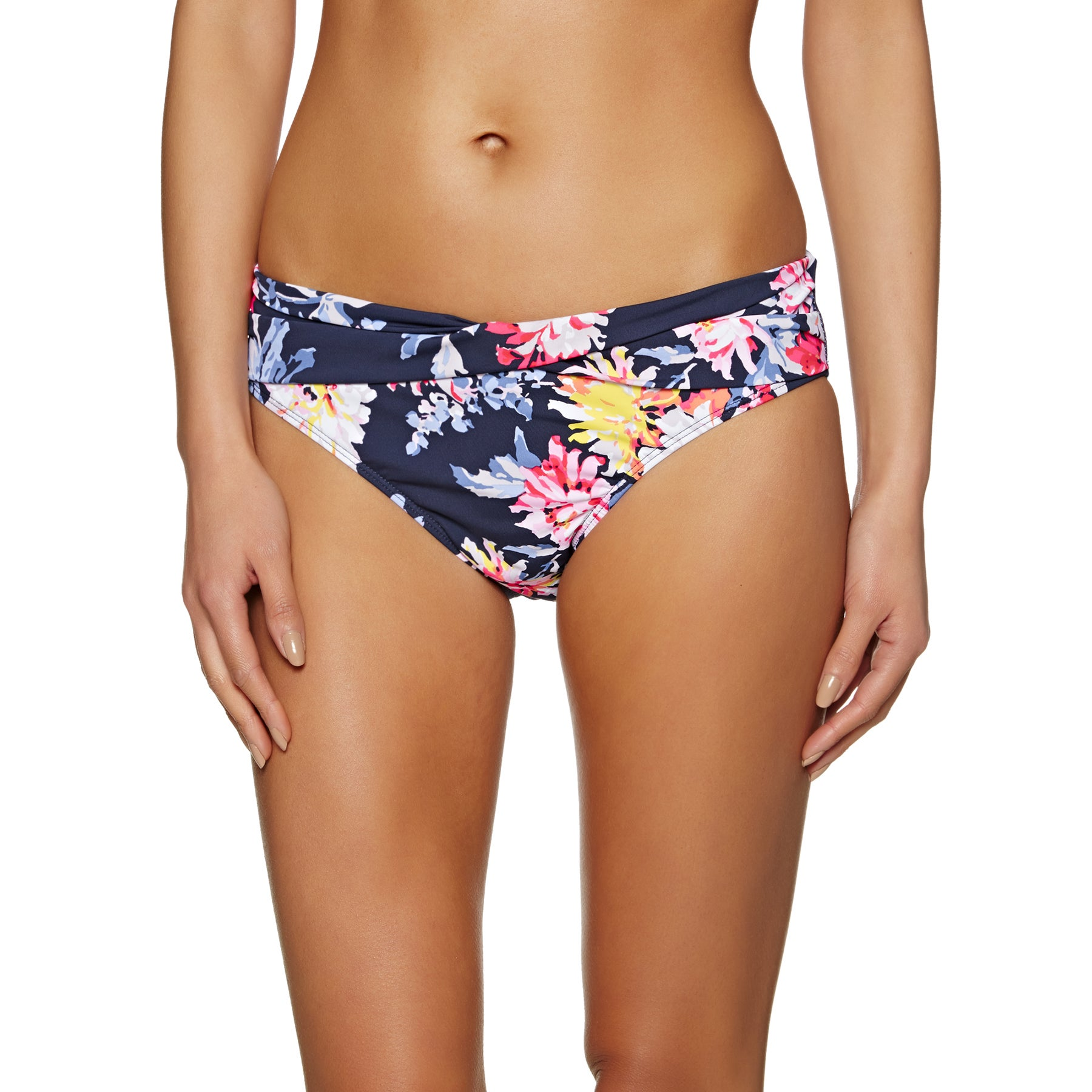 Joules Belle Womens Bikini Bottoms - Navy Whitstable Floral
