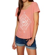 Animal Ethnique Womens Short Sleeve T-Shirt