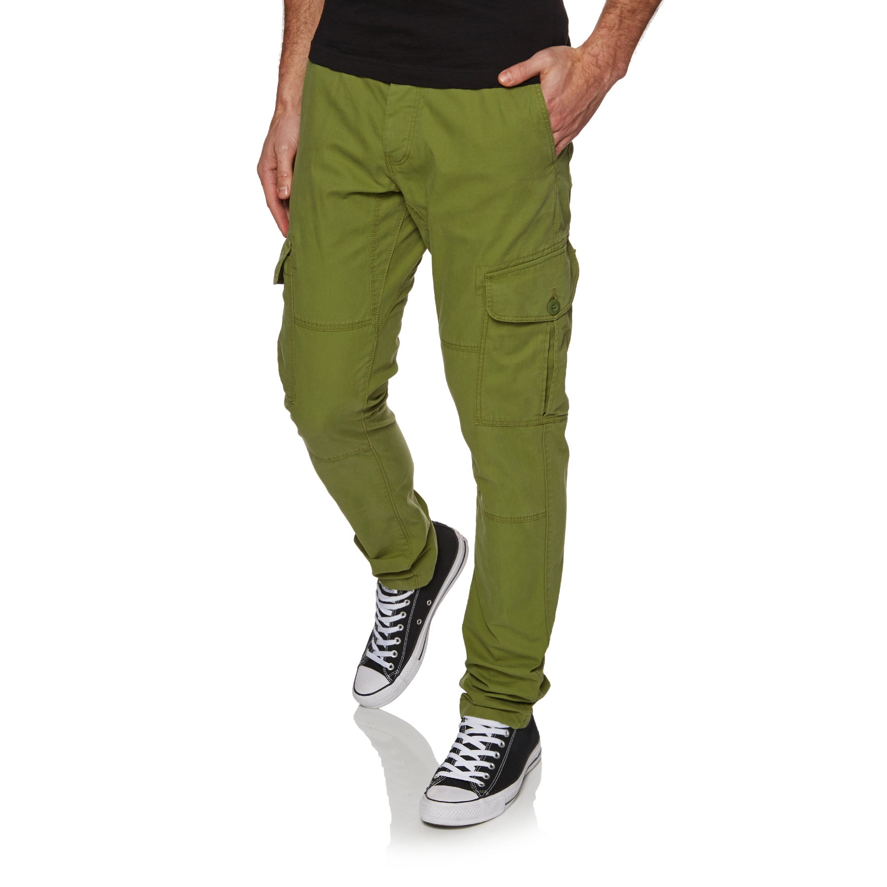 O Neill Tapered Cargo Pants - 6115 Olive Branch