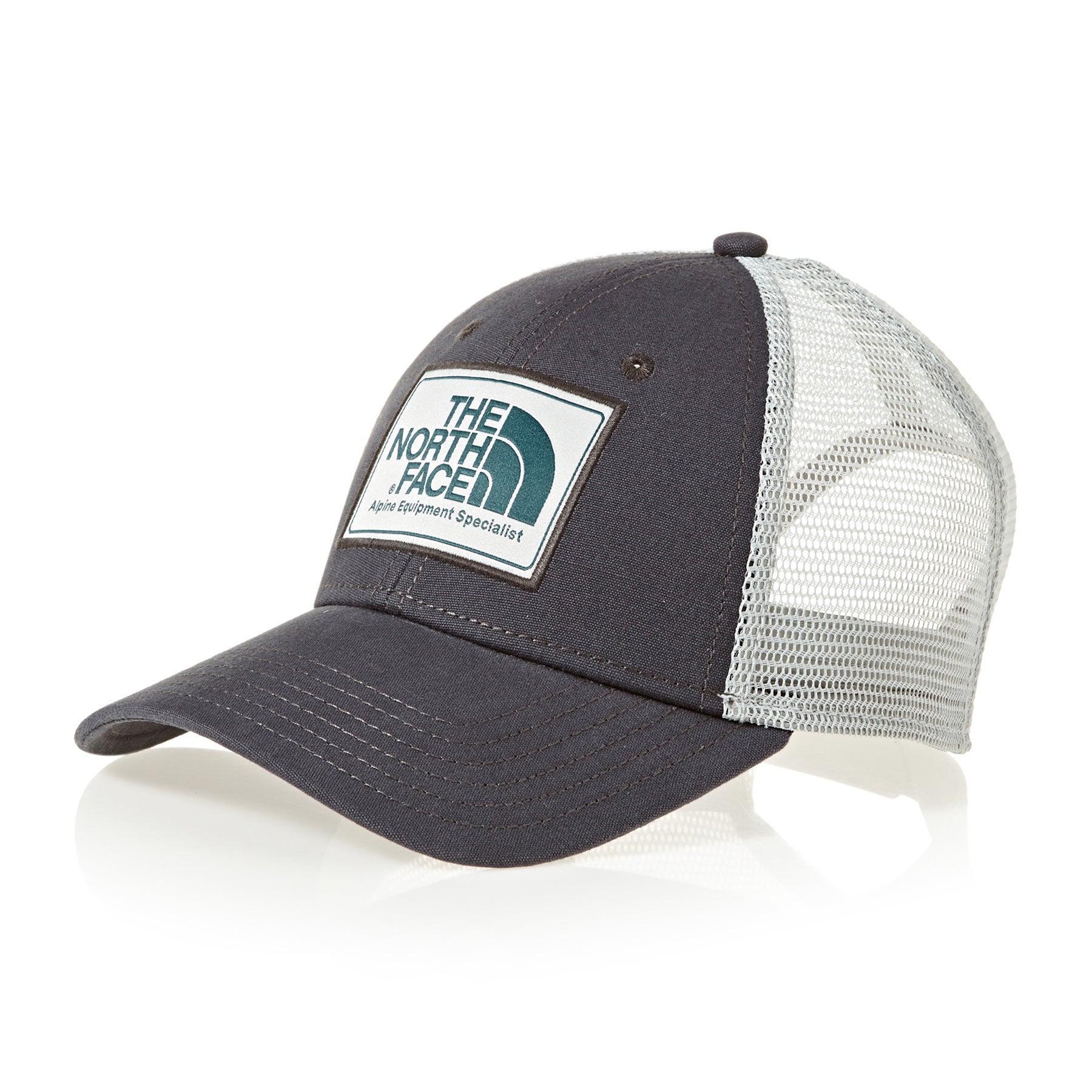 Casquette North Face Mudder Trucker - Asphalt Grey High Rise Grey Blue Coral