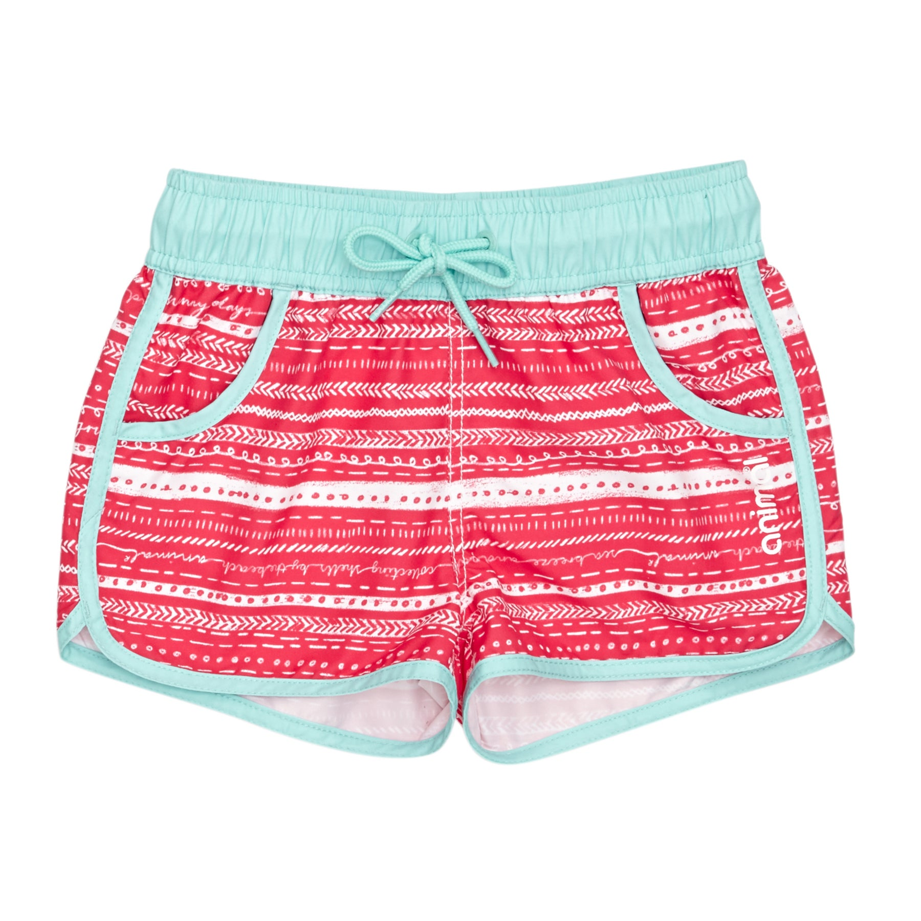 Animal Cali Dreamer Girls Boardshorts - Petunia Pink
