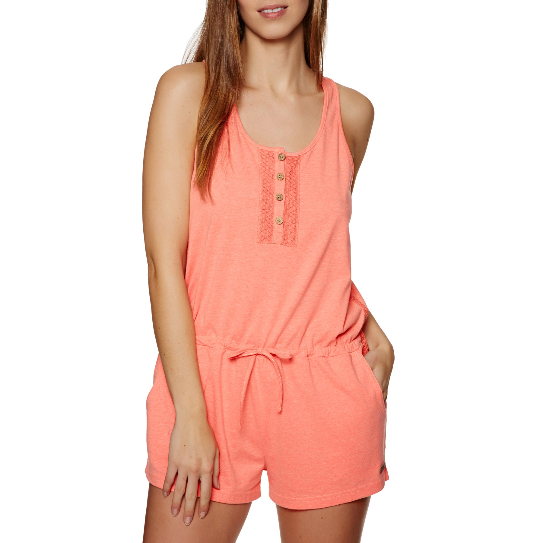 Playsuit Protest Amore - New Coral